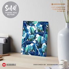 Just sold an Art Print of my artwork titled 'Rubber Plant'! Order yours or see all #redbubble products carrying this design here: http://www.redbubble.com/people/83oranges/works/22274996-rubber-plant-redbubble-lifestyle?asc=u&p=gallery-board