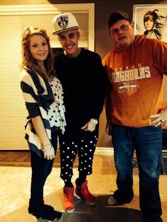 Justin in Toronto with his fam