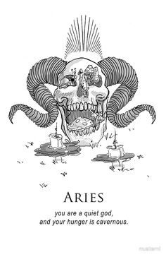 Aries - Shitty Horoscopes Book VII: Magick by musterni