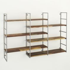 Rubix Shelf  | Crate and Barrel.  This is just what you need in your new bedroom.