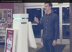 OSHbots - Starting in Dec. machines called OSHbots will assist customers in one of Lowe's Orchard Supply Hardware stores in San Jose, California. Autonomous Robots, Smart Car, The New Yorker, Lowes, Chef Jackets, Orchard Supply, Hardware Stores, Tuesday, San Jose