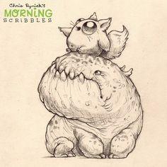 Auf diese Weise ... ZUM ABENTEUER !!! #morningscribbles