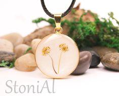 Erinnerungsschmuck Pusteblumen aus Haaren Pearl Background, Hair Strand, Carat Gold, Rose Gold Plates, 925 Silver, Dandelion, Coin Purse, Drop Earrings, Pearls