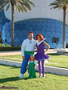 Corey: Meet the Jetsons! This years Halloween was out of this world! I was looking for an idea that hasn't been done much before. I was pleasant surprised at how few...