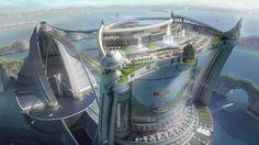 futuristic underground homes | Bizarre Futurist Predictions That Never Came True