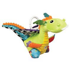 LAMAZE Flip Flap Dragon, Clip on Pram and Pushchair Newborn Baby Toy, Sensory Toy for Babies Boys and Girls from 0 to 6 Months Activity Toys, Activities, Lamaze Toys, Dragon Nursery, Tomy Toys, Baby Sense, Sensory Toys, Clips, Dinosaur Stuffed Animal