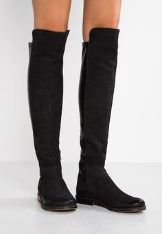 b64c7a96e31 CLASH - Over-the-knee boots - pacific wonderful black