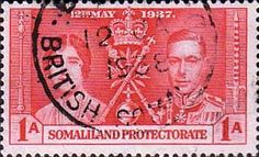 Somaliland Protectorate 1937 Coronation SG 90 Fine Used Scott 81  Other Somaliland Stamps HERE