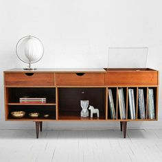Vintage Swedish Teak Record Cabinet Mid Century Credenza par Moved 44 Of The Most Trending Decor Ideas That Will Make Your Home Look Fabulous – Vintage Swedish Teak Record Cabinet Mid Century Credenza par Moved Source Retro Furniture, Mid Century Modern Furniture, Home Furniture, Furniture Design, Furniture Ideas, Lounge Furniture, Refurbished Furniture, Furniture Storage, Furniture Online