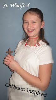 Saint Winifred Costume - Catholic Inspired