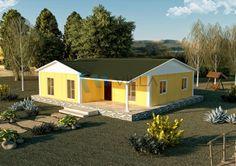 117 m² Tek Katlı Prefabrik Ev