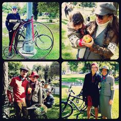 Some of my favourite tweeders (from Toronto Tweed Ride 2012)