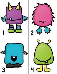 Monster Counting Freebie by Miss Kindergarten Love Miss Kindergarten, Kindergarten Activities, Preschool Activities, Counting Activities, Preschool Lessons, Preschool Learning, Preschool Crafts, Numbers Preschool, Teaching
