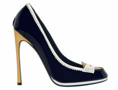 Yves Saint Laurent Preppy Pumps. Great for those summer days