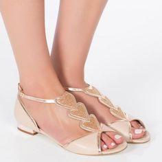 1e50c4d9d Dune Bridal Collection Nightingale Sandals, Ivory   Wedding Shoes ...