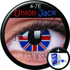 ColourVue Union Jack Coloured Contacts (Kit)