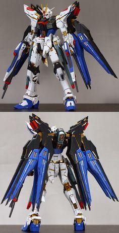 RG 1/144 Strike Freedom Gundam - Customized Build  Modeled by kirakira  GG INFINITE: ORDER HERE