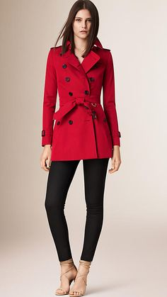 The Chelsea – Short Heritage Trench Coat -  1