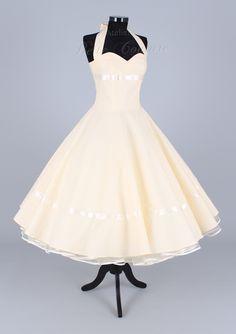 Wunderschönes 50er Jahre Brautkleid Marie - Vintage Brautkleider von atelier-belle-couture - Brautkleider - Kleider - DaWanda