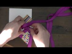 Birthday Card with Pantone Color of the Year Bow making for cards tutorial!