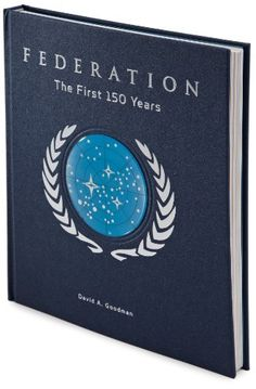 Star Trek Federation: The First 150 Years - This unprecedented illustrated volume chronicles the pivotal era leading up to Humankind's First Contact with Vulcan in 2063, the Romulan War in 2156, the creation of the Federation in 2161, and the first 150 years of the intergalactic democracy up until the year 2311.