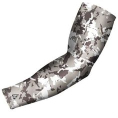 B-Driven Sports Pro Fit Compression Arm Sleeve Flaked Camo (Green) Available in many color options and 5 sizes including youth, Kids Unisex, Size: XL