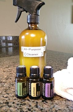 All-Purpose Cleaner by FabulousFarmGirl. A homemade cleaner that really works!