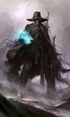 deviantart -Cowbro the outlaw sorcerer