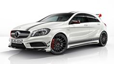"""2014 Mercedes-Benz AMG Edition 1 What the. - 2014 Mercedes-Benz AMG Edition 1 """" What the """"Edition brings to Stuttgart's hottest hatch is some custom styling touches, while also ticking most boxes on the options list, for a more affordable. Mercedes A Class, New Mercedes, Mercedes Benz A45 Amg, Classe A Amg, Cla 45 Amg, Carl Benz, Benz A Class, Automobile, Mercedez Benz"""