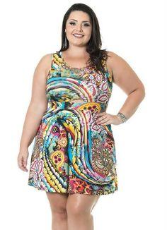 Esse é seu Estillo ? copie o look!   VESTIDO ESTAMPADO AMARELO MISS MASY PLUS  COMPRE AGORA!  http://imaginariodamulher.com.br/produto/vestido-estampado-amarelo-miss-masy-plus/