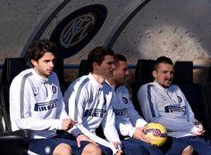 Andrea Ranocchia, Marco Andreolli, Lukas Podolski, and Zdravko Kuzmanovic