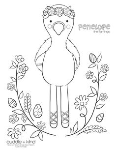 Easter Coloring Pages, Coloring Sheets For Kids, Printable Coloring Sheets, Colouring Pages, Coloring Books, Colouring Sheets, Cute Kids Crafts, Holiday Crafts For Kids, Toddler Crafts
