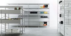 Modular shelving unit FESTIVAL By Casamania & Horm design Baldanzi & Novelli Modular Shelving, Shelf System, Module, Catalogue, Cabinet, Bookshelves, Designer, Locker Storage, Contemporary