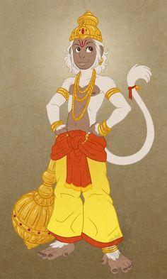Hanuman baby