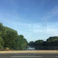 Lovely morning in #london en route to work. We  #summer