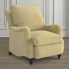 Recliner from Bassett Furniture $1399 as shown. Can do custom fabric.