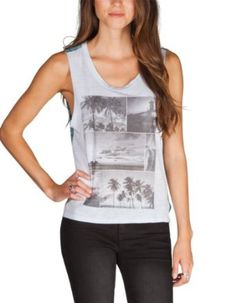 Hurley Women's Thousand Palms Muscle Tank