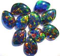 Beautiful parcel of Australian Opal Triplets - in store now :) .....