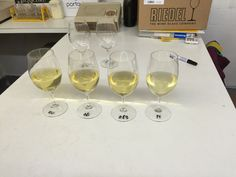 Blending the Atrolo white Semillon Sauvignon Blanc