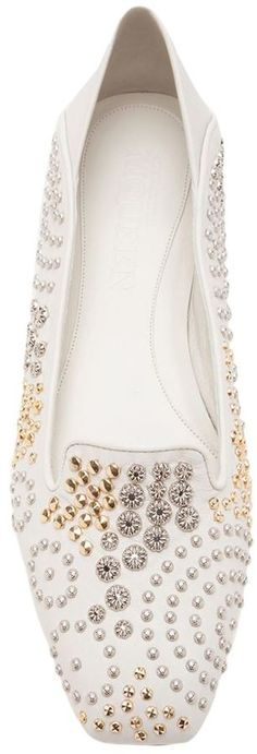 Alexander McQueen studded slippers on shopstyle.co.uk