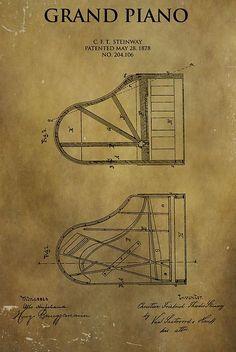 Grand Piano Patent