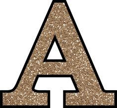 Glitter Without The Glue! Free Digital Printable Alphabet to Download: Glitter Letter A To Print