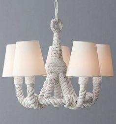 Rope Chandelier on Sale: http://www.completely-coastal.com/p/coastal-sale-island.html