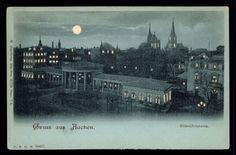 CUT OUT, Germany, Gruss aus Aachen, Elisenbrunnen