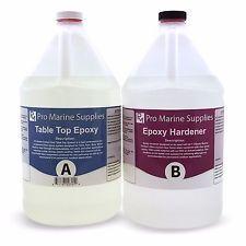 Pro Marine Supplies Epoxy Resin Boat Building Marine Grade Laminating Fiberglass and Wood 1 Gallon