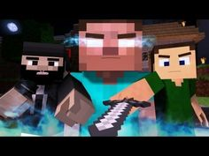 """""""The Miner"""" - A Minecraft Parody of The Fighter by Gym Class Heroes (Music Video), so sad."""