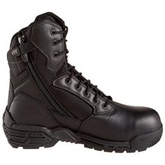 Magnum Men's Stealth Force 8.0 Side Zip Composite Toe Waterproof Boot >>> See this awesome image @ http://www.lizloveshoes.com/store/2016/06/06/magnum-mens-stealth-force-8-0-side-zip-composite-toe-waterproof-boot/?ij=030716012030