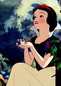 Snow White and the Seven Dwarfs . My favorite Disney princess Disney Magic, Disney Pixar, Walt Disney, Disney Dream, Disney E Dreamworks, Disney Amor, Disney Animation, Disney Cartoons, Disney Love