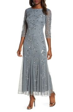 Silver or Gray Mother of the Bride Dresses. Dresses for the mother-of-the bride and mother-of-the-groom in silver, gray, and other neutral colors. Mother Of Groom Outfits, Mother Of The Bride Fashion, Mother Of The Bride Plus Size, Mother Of The Bride Dresses Long, Mothers Dresses, Grooms Mother Dresses, Grooms Mom Dress, Long Mothers Dress, Mother Bride