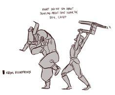 cole strikes again iron bull // dorian // cullen